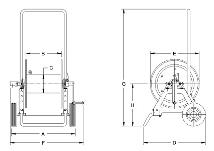 Dimensions for GH1100 Series