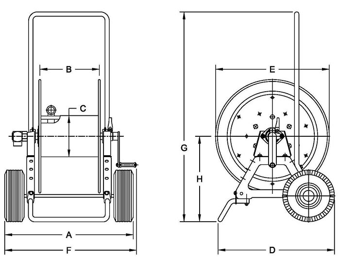 Dimensions for ATC1250 Series